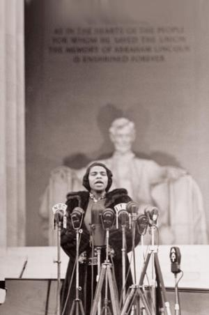 WPAS to Lead 'OF THEE WE SING' Celebration of Marian Anderson, 4/12