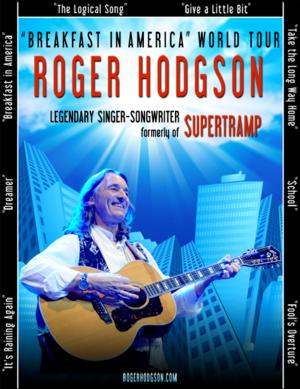 Roger Hodgson, Formerly of Supertramp, Announces 'Breakfast in America' World Tour