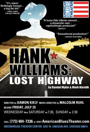 American Blues Theater Extends HANK WILLIAMS: LOST HIGHWAY Through Sept 28