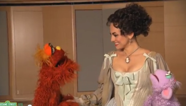 Stage Tube Sesame Street Meets Isabel Leonard Of The