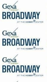 Gexa Energy Broadway at the Hobby Center Announces Open House This Sunday