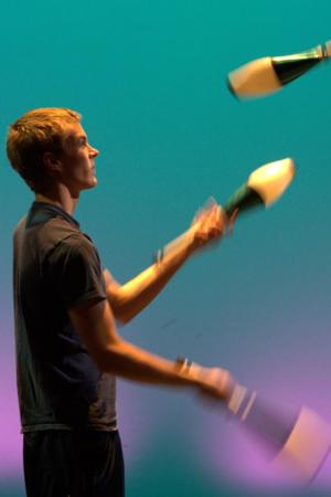 Free First-Sunday Juggling Set for 3/2 at BPA