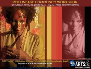Red Lineage Community Workshop Set for 4/26