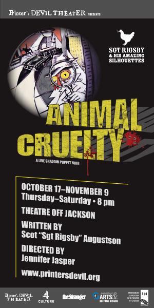 Printer's Devil Theater to Present ANIMAL CRUELTY, 10/17-11/9