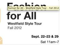 The Award Winning Westfield Style Tour is Coming to Seattle's Westfield Southcenter