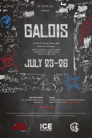 Julian Cihi and Diane Phelan to Star in 2g's GALOIS at the 2014 Ice Factory Festival, 7/23-26