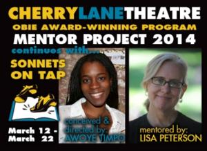 Cherry Lane's Mentor Project to Continue 3/12 with SONNETS ON TAP