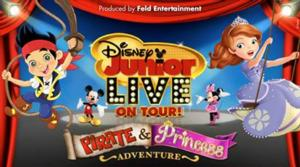 Tickets to DISNEY JUNIOR LIVE ON TOUR! PIRATE AND PRINCESS ADVENTURE at King Center on Sale 11 Oct.