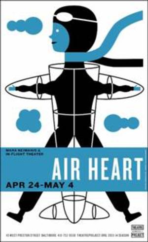 AIR HEART Set for Theatre Project, 4/24-5/4