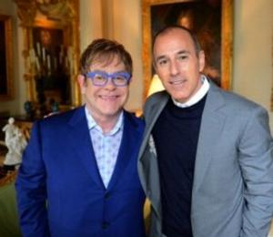 TODAY to Air Exclusive Interview with Sir Elton John, 3/31