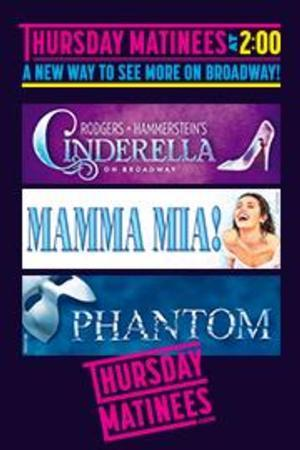 New Thursday Matinees: Save on 3 of Broadway's Biggest Hits