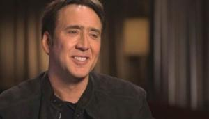 Actor Nicolas Cage to Visit CBS SUNDAY MORNING, 4/6
