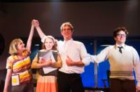 First-Look-Umbers-Humbley-Gabrielle-And-Strallen-In-MERRILY-WE-ROLL-ALONG-20000101