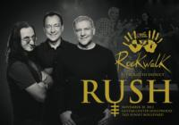 Rock Trio Rush to be Inducted into Guitar Center's Historic RockWalk, 11/20