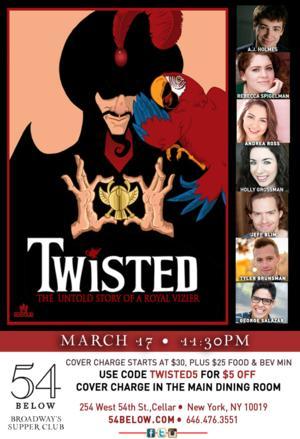 Team StarKid Presents TWISTED IN CONCERT at 54 Below, 3/17
