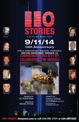 JAG Productions' 110 STORIES to Welcome Star Portrayals of Real-Life 9/11 Survivors
