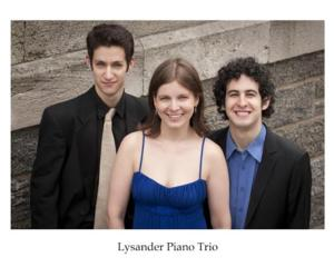 Concert Artists Guild Welcomes Lysander Piano Trio to Carnegie Hall Tonight