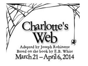 Second Story Repertory Presents CHARLOTTE'S WEB, 3/21-4/6