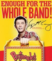 AMERICAN IDOL Scotty McCreery Featured in New Bojangles' Campaign
