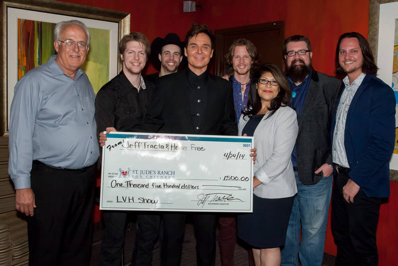 Master Impressionist of Our Time Jeff Tracta and Season 4 Winners of 'The Sing-Off' Home Free Pack the House at the Las Vegas Hotel and Casino April 24