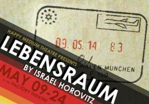 Happy Medium Theatre to Conclue Season with LEBENSRAUM, 5/9-24
