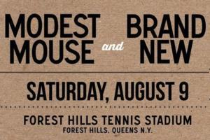 Forest Hills Stadium Welcomes Modest Mouse and Brand New Tonight