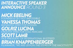 NXNE Interactive Announces Speakers for Festival, 6/17-6/21