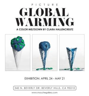 Mouche Gallery to Present Clara Hallencreutz's PICTURE GLOBAL WARMING, 4/24-5/21