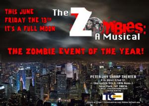 RJR & Associates Presents THE ZOMBIES: A MUSICAL, 6/12-7/13