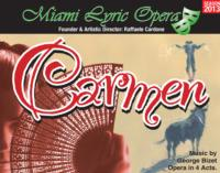 Miami Lyric Opera to Present CARMEN, 4/6-7