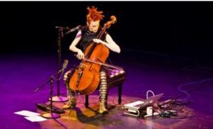 Cellist Zoe Keating to Play 1200 Club in Holland Center, 5/2