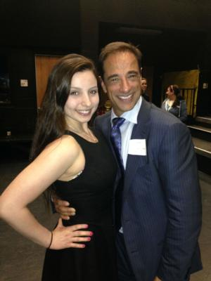 Photo Flash: Broadway Producer Hal Luftig Visits Dreyfoos School of the Arts