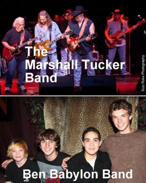 Ben Babylon Band to Open for Marshall Tucker Band at LA's Canyon Club, 5/23