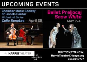 DanceWorks Chicago Set for Harris Theater's EAT + DRINK TO THE BEAT, 5/7