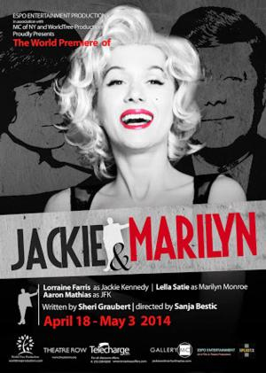 Espo Productions to Present World Premiere of JACKIE AND MARILYN at Theatre Row, 4/17-5/3