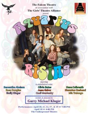 UT Theatre of the Falcon Stages Presents AQUARIUS RISING, Now thru 4/18