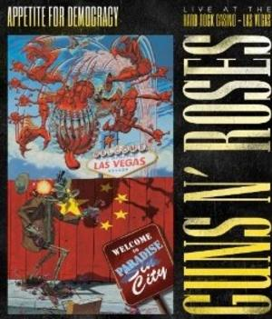 Guns N' Roses to Release 3D Concert DVD 'Appetite for Democracy 3D: Live at the Hard Rock Casino – Las Vegas'