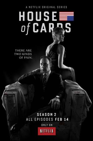 HOUSE OF CARDS Season 2 Set for DVD, Blu-ray Release on 6/17