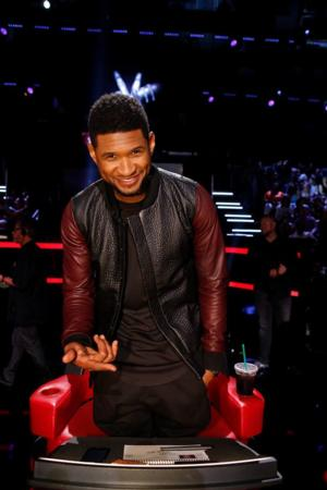 Usher to Debut New Single 'Good Kisser' on THE VOICE, 5/12