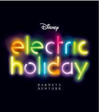 Barneys New York Teams Up with Walt Disney for an Electric Holiday