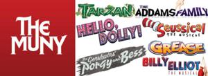 The Muny Announces 2014 Summer Season; BILLY ELLIOT, PORGY & BESS, GREASE & More Included!