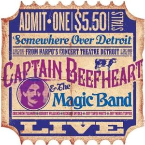CAPTAIN BEEFHEART'S Harpo's Detroit 1980 Concert Recording to Be Released