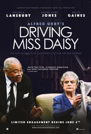 ANGELA LANSBURY AND JAMES EARL JONES IN DRIVING MISS DAISY IN CINEMAS BEGINNING JUNE 4