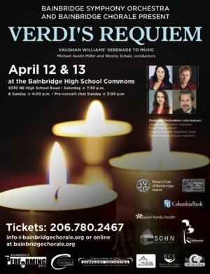 Bainbridge Chorale & Bainbridge Symphony Orchestra to Perform VERDI'S REQUIEM, 4/12-13