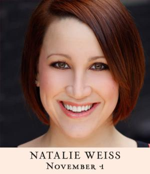 Natalie Weiss Cancels Tonight's Concert at 54 Below Due Due to Laryngitis