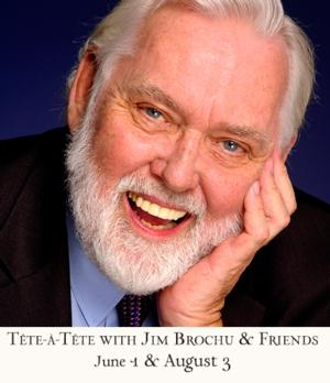 'TETE-A-TETE' with Jim Brochu & Sheldon Harnick Set for 54 Below, 6/1