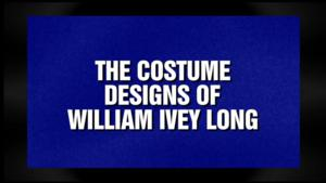 Tony-Winning Costume Designer William Ivey Long to be Featured on JEOPARDY!, 5/16
