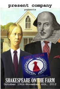Present Company Stages JULIUS CAESAR for Shakespeare On the Farm, Now thru 11/4