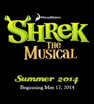 SHREK THE MUSICAL Opens 5/17 at BDT