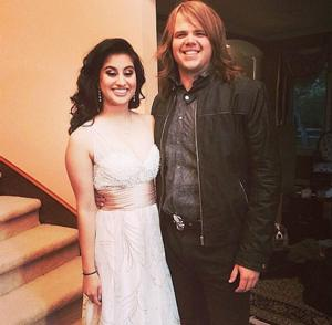 Photo: AMERICAN IDOL Champ Caleb Johnson Takes Jena Irene to the Prom!